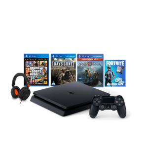 PlayStation 4 Slim 500GB Megapack + Stealth C6-300 Headset