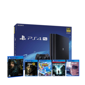 PlayStation 4 Pro – 5 Game Bundle