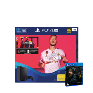 PlayStation 4 Pro + FIFA 20 + FREE Death Stranding