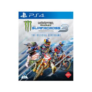 Monster Energy Supercross 3 (PS4)