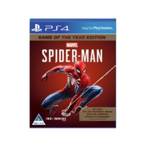 Marvel Spider-Man GOTY (PS4)