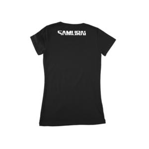 Cyberpunk 2077 Samurai Logo Womens T-Shirt – Black