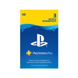 Playstation Plus – 3 Month Membership