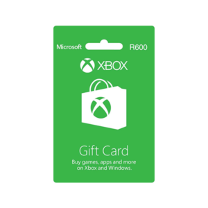 Xbox Live Gift Card – R600