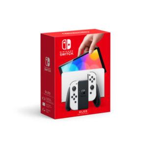 Nintendo Switch OLED Model (White) – PRE-ORDER