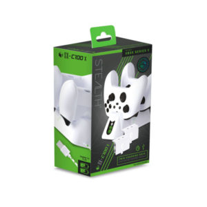 Stealth SX-C100 X Twin USB Charging Dock for Xbox Series Contollers (White)