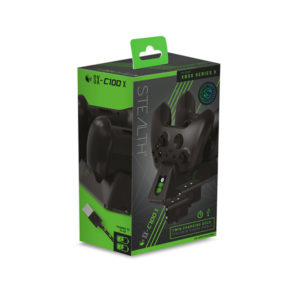 Stealth SX-C100 X Twin USB Charging Dock for Xbox Series Contollers (Black)