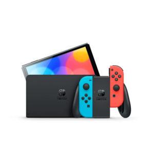 Nintendo Switch OLED Model (Red/Blue) – PRE-ORDER